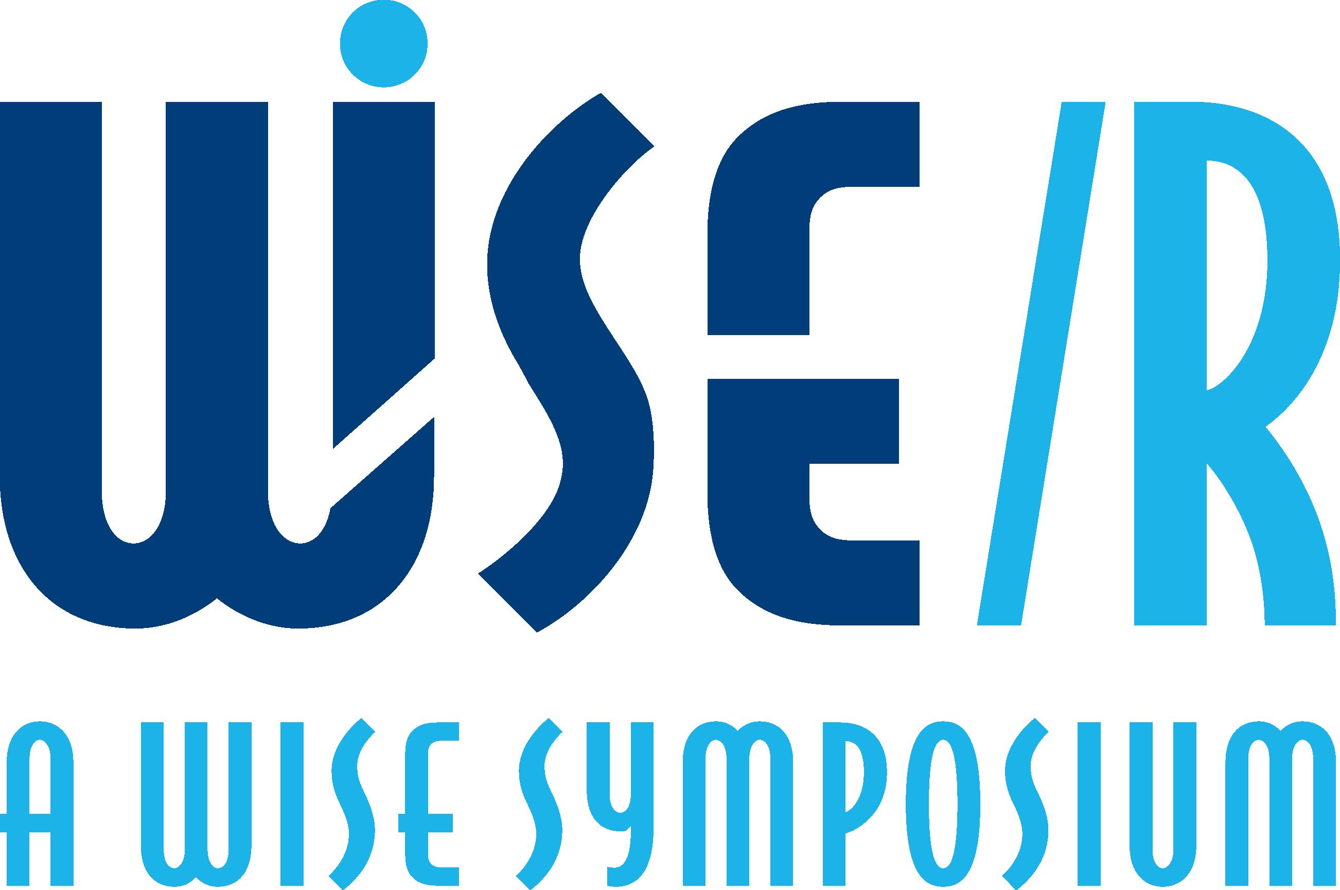 WISE/R Symposium Logo