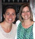 CHI Mentor Lauren Salituro & Mentee Lauren Griswold