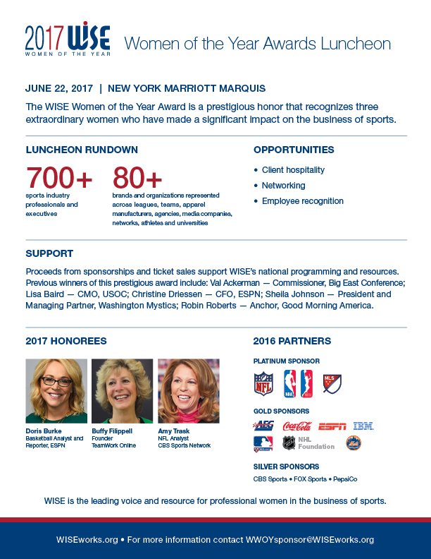 WWOY 2017 Luncheon Overview